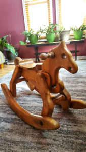 Vintage Hand-crafted Rocking Horse
