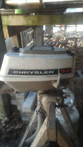 Chrysler Outboard Motor Vintage