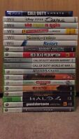 Video games (Xbox 360, Wii, PS4)