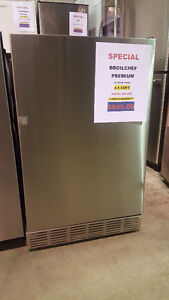 MINI OUTDOOR FRIDGE STAINLESS BROILCHEF