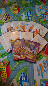 11 Baby einstein and 2 mickey mouse club house DVDs