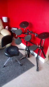 Roland Electronic Drum Set and Chair