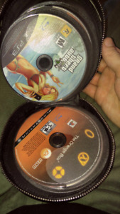 Ps3 game lot no cases in booklet.