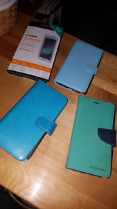 Galaxy Note 4 wallet cases and screen protector