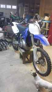 Yz 250 new top end