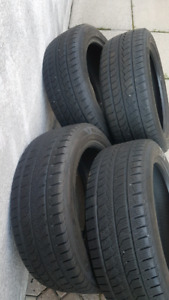 Selling four 215/55R18 Winter Tires