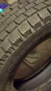 4 Pneus d'hiver YOKOHAMA/winter tires 185/70/14