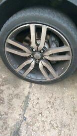 22'' Range Rover Landmark wheels and tyres