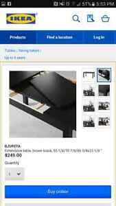 IKEA Dining table and 6 chairs Windsor Region Ontario image 6