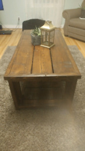 Farmhouse coffee table