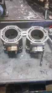 Acrtic cat  zr600 complete motor