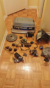 Pieces Moteur Johnson-Evinrude 35 a 50 HP 1969 a 1981
