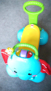 Fisher Price 3-in-1 Bounce Stride Ride Elephant Walker Ride On