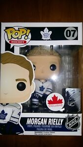 Funko Pop NHL Hockey Morgan Rielly Toronto Maple Leafs #07 EX