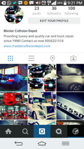 ACCIDENT REPAIR BODY SHOP< PROFESSIONAL QUALITY WORK & PARTS