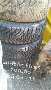 Spring winter tires