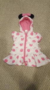 3-6 month Minnie mouse swim cover up