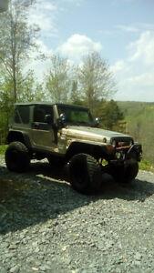 2003 Jeep TJ rubicon VUS