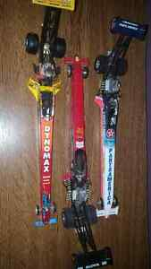3 car collection 1/24 top fuel dragsters