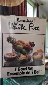 Ravenhead White Fire 7 Bowl Set