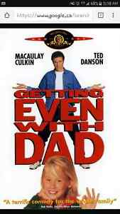 I'M LOOKING FOR GETTING EVEN WITH DAD THE MOVIE Kingston Kingston Area image 1