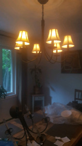 Selling two matching chandeliers