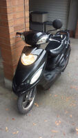 2012 GIO Black Electric Scooter Great Condition !