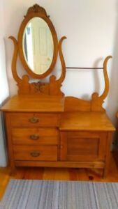 Antique Dressers and chairs for sale