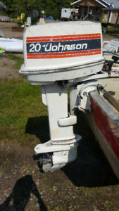 20 hp Johnson long shaft $700 obo