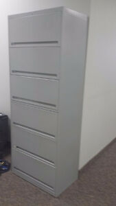 End Tab Filing cabinets with lock
