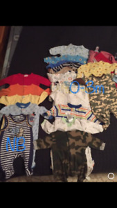 Baby boy clothes lot for sale