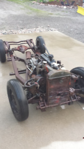 Triumph TR2 rolling chassis