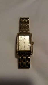 Kate Spade Cooper Grand Champagne Dial Gold-plated Ladies Watch