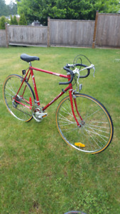 Vintage bike  10speed racer commuter
