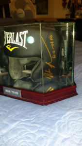 Mike Tyson signed, inscribed & authenticated