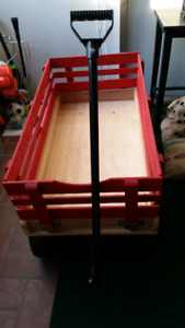 Kids wooden wagon for sale