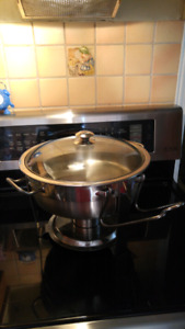 Seville Stainless Steel Commercial CHAFING BOWL yyuupp