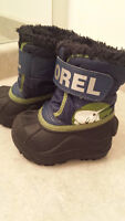 Sorel Winter toddler boots- Size 4
