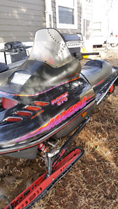 Sled for dirt bike