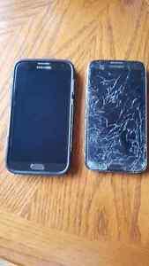 Samsung Note 2 $275.00 OBO (get both phones)