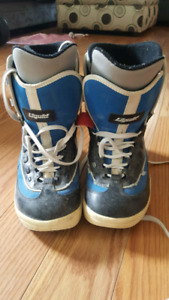 mens size 10 snowboard boots