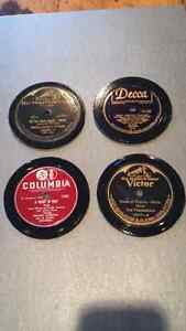 Record Coasters ( set of 4)