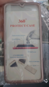 Samsung A70 Case with screen protector