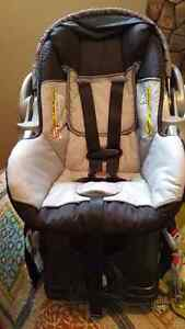 Car seat and cover