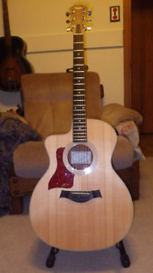 Left Handed Taylor Acoustic Electric Guitar