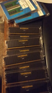 8 GB Crucial DDR4 RAM - 4 sticks available