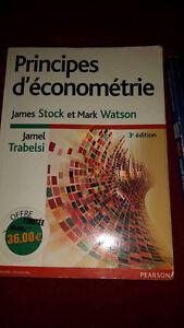 Principe d'économétrie 3e édition Stock, Watson