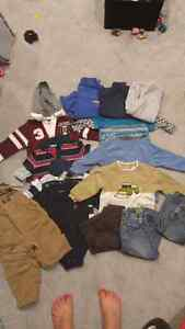 Boys 18-24 month winter lot