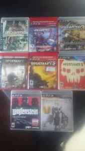 PS3 Games to trade (Cobourg)