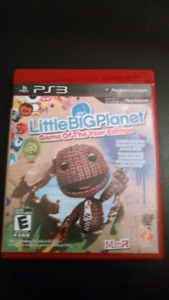 Little Big Planet  PS3 game *Game of the year edition